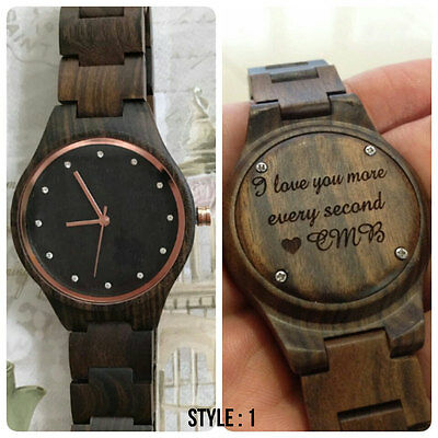 womens wood watch, personalized womens wooden watch, womens watch, FAST DELIVERY
