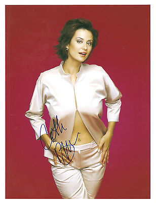 Catherine Bell Signed Authentic 8X10 Photo Coa From N.a.. # 241020