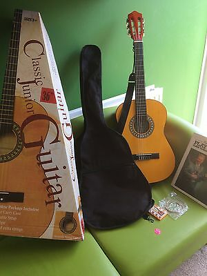 Classic Acoustic Guitar With Case,box,book etc!