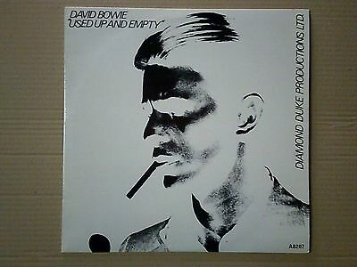 LP David BOWIE - USED UP AND EMPTY 1983 Mint-/Mint