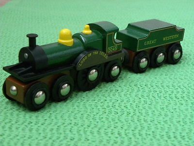 BRIO GREAT WESTERN LORD OF THE ISLES for Thomas & Friends Wooden Railway TRAIN S