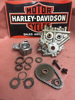 Harley Twin Cam Hydraulic Cam Plate Oil Pump 06 Up Dyna 07-13 Softail Touring