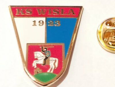 Football pin badge Wisła Puławy (Poland)