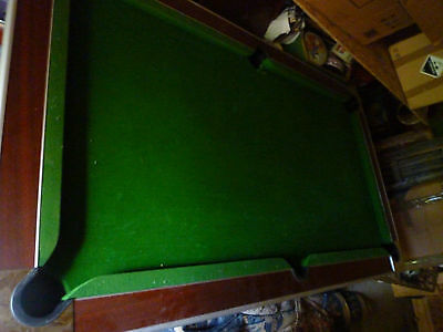 Pool Table With Slate Bed - Offers Considered