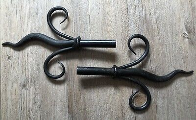 Jim Lawrence Wrought Iron Finials - To Fit 25mm Diameter Pole