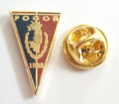 Football pin badge Pogoń Szczecin (Poland)