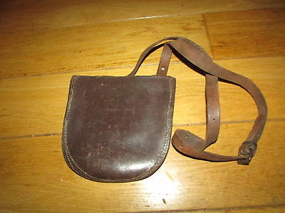 WW1 1918 Daated British Horsehsoe Pouch