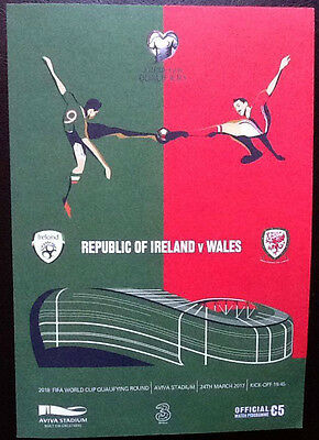Republic Of Ireland V Wales 24/3/2017 World Cup