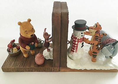 Winnie The Pooh Bookend Figurines