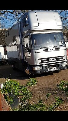 Horsebox Horse Lorry 7.5 ton plated till Jan 2018 Smart lorry and priced to sell