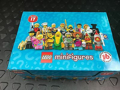 LEGO 71018 Collectible Minifigures Series 17 Complete Sealed box of 60
