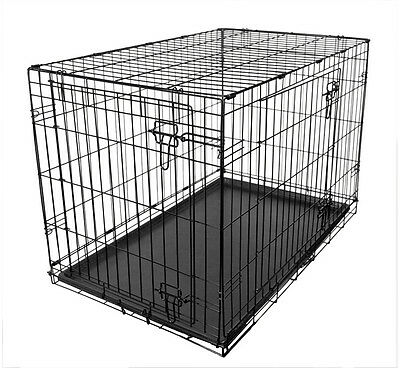 "Large, Fold Flat Dog Cage, Puppy/Dog Training Crate 36"" RRP£49.99"