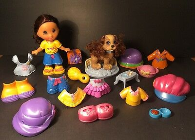 Snap n Style DOLL & Clothes DOG & Accessories Toys by Fisher Price
