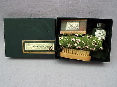 Fikkerts Kitchen Garden Handy Hints Gift Box Hand Cream Soap Gloves Nail Brush
