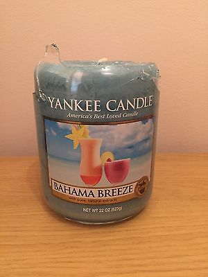Yankee Candle Bahama Breeze Large Jar Wax Only