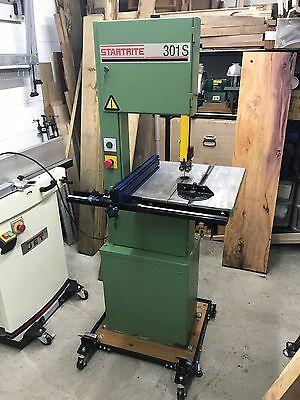 Startrite Bandsaw 301S - Excellent Condition - Bearing Guides - Kreg Fence 230v