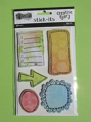 Ranger Dylusions Creative Dyary Stick-Its NEW RELEASE