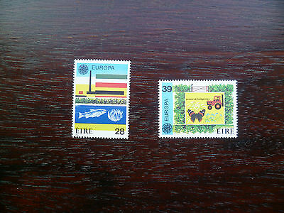 Ireland Stamps:1986 Europa Protection of Environment MNH Cat Value £24