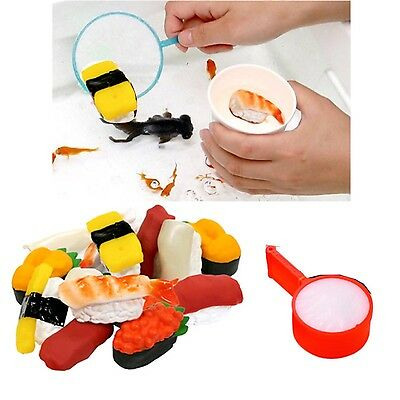 12 pieces  Japanese Sushi scooping fun bath pool with 25 set schooping net
