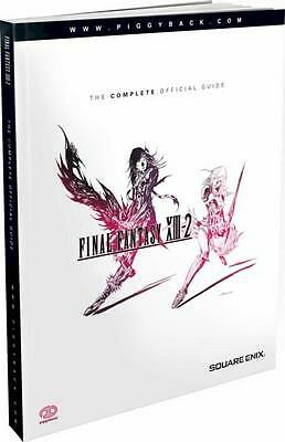 Final Fantasy XIII-2 - The Complete Official Guide by Piggyback Paperback, 2012