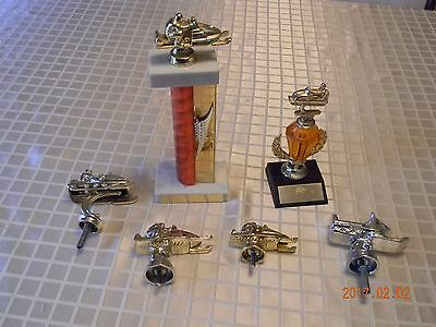 Vintage 1960-70's Snowmobile Trophies and Toppers