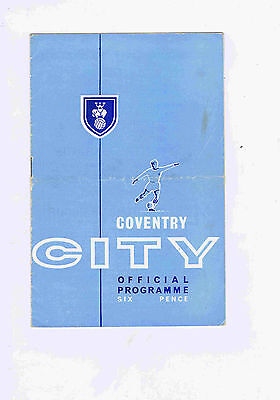 Coventry City v Ipswich Town (League Cup Round 2) - 23/09/1964