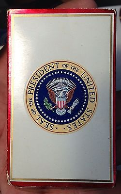A pack Of Kent Cigarettes From The White House With The Presidential Seal On It.