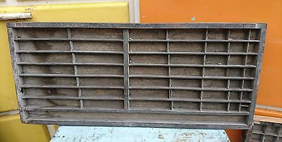 Vintage Print tray printer drawer wooden type case miniature display letterpress