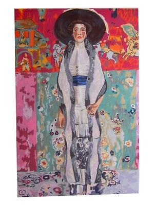 Canvas Tapestry Needlepoint Printed Embroidery Gobelin Adele Klimt 163.4333