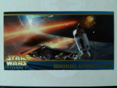 Star Wars Episode 1 - S2 Widevision Oversized Card Box Topper 3 of 3 - 1999
