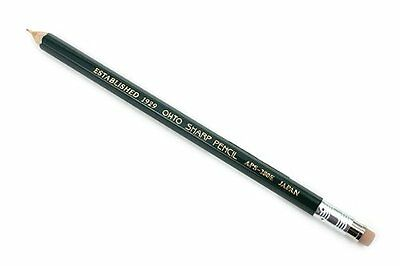 OHTO Mechanical Pencil  with Eraser, 0.5mm,(APS-280E-Green)