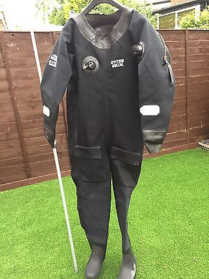 Otter Skin Dive Suit in black, used