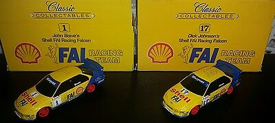 Dick Johnson, John Bowe 1:43 Shell Racing Team cars.