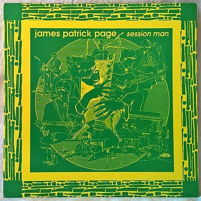 James Patrick Page Session Man Lp Jimmy Page