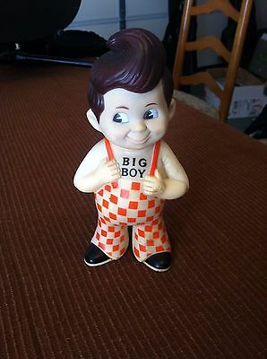 Bobs Big Boy Advertising Vintage 1973 Coin Bank Classic Restaurant Doll Rubber