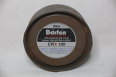 Barfen CRX 100 35mm Colour Slide Film 100 iso Daylight (30m) Unopened