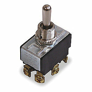 IDEAL Toggle Switch,DPDT,10A @ 250V,Screw, 774000