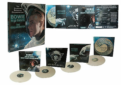 Bowie Plus Guests - The Collaborator: Limited Edition on Clear Vinyl 4 LP Set