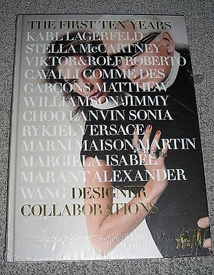 """H&M """"The First Ten Years"""" Book Karl Lagerfeld - NEW AND SEALED"""