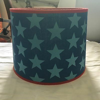 Children's Blue Star Lampshade GLTC (option to Buy As Part Of Package)