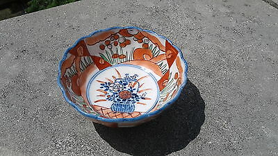 Antique Japanese Imari Porcelain Bowl 19th Century NR