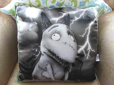 Disney Store Frankenweenie Sparky Dog Cushion - Rare