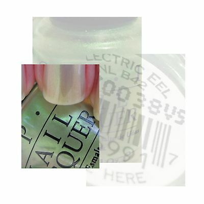 OPI Nail Polish Lacquer 15ml  # ELECTRIC EEL  DISCONTINUED Free And Safe Postage