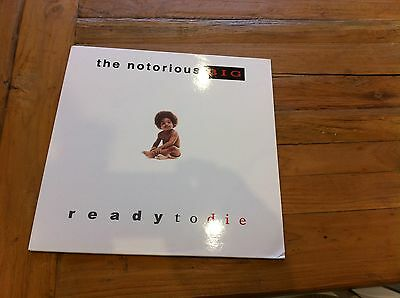 Notorious B.I.G Ready To Die Classic Reissued Debut on Clear Vinyl LP