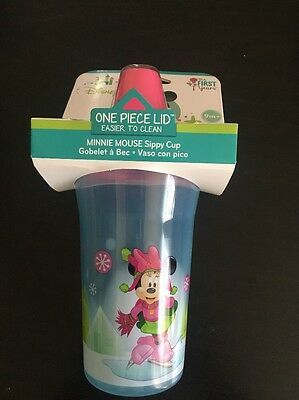Minnie Mouse Disney Sippy Cups BPA Free 9 Oz. The First Years