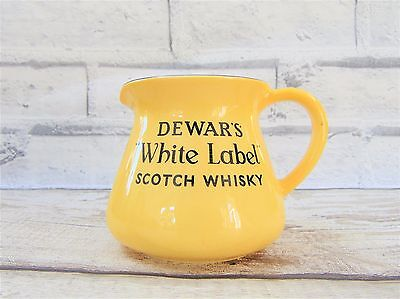 Carlton Ware Dewar's White Label Water Jug Vintage Breweriana China Collectables