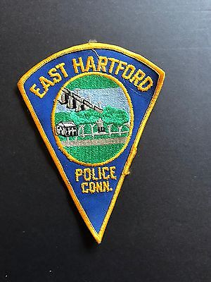 East Hartford Connecticut Police Patch