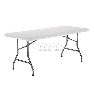 Global Industrial Interion® 6 Foot Plastic Folding Table