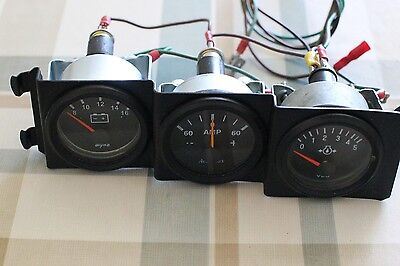 Amp meter 60-60, 12v black Accumax. OTHER ITEMS SHOWN NOT INCLUDED BUT AVAILABLE