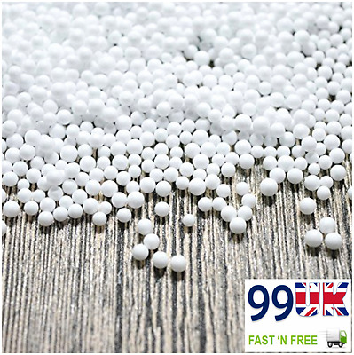 Lovely Wedding Giveaways/Ornaments - 2 Pack (6000 Pieces) White Styrofoam Balls